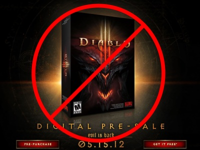Diablo 3 Canceled
