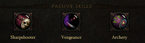 Demon Hunter Passives