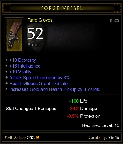 Nightmare Gloves