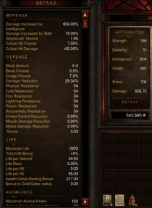 Level 32 Wizard