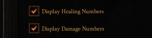 Show Healing Numbers